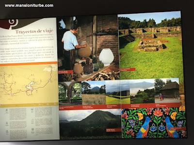 Trayectos de Viaje para recorrer la Ruta Don Vasco en Michoacán