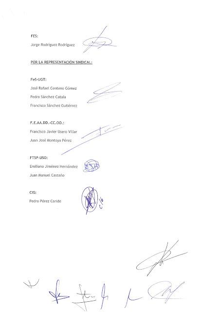 CC.OO. PROSEGUR MADRID: Acta Mesa Negociadora