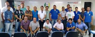 Prefeito Olivânio Remígio se reuniu com motoristas da prefeitura de Picuí