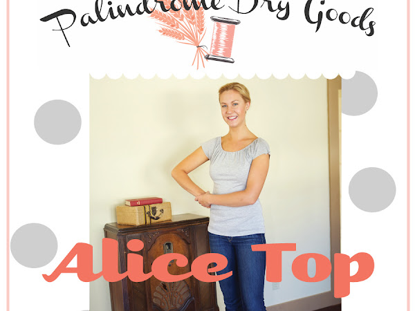 Palindrome Dry Goods' Alice Top Sew-Along - Part 2