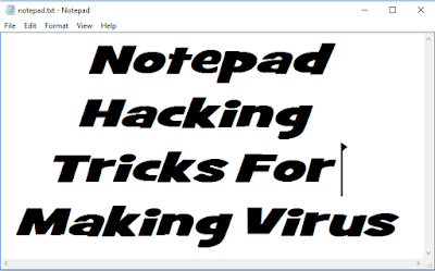 notepad-tricks