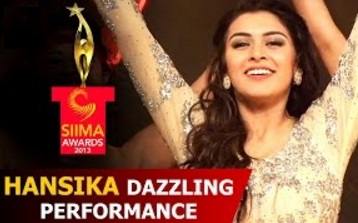 Hansika Dazzling Performance SIIMA Awards Function