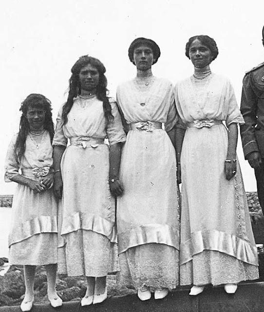 Anastasia, Maria, Tatiana e Olga