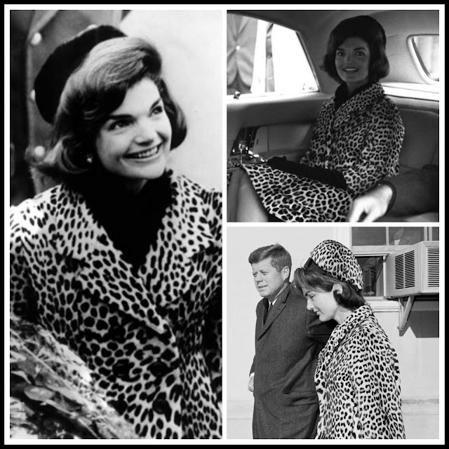 jackie kennedy, leopard fashion, animal print jewellery, statement cocktail rings