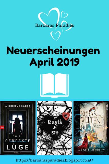Neuerscheinungen im April 2019 #1
