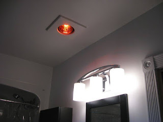 Đèn sưởi âm trần 1 bóng phòng ngủ
