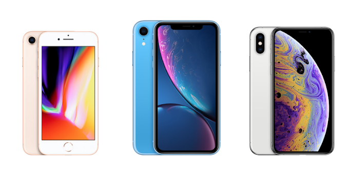 Apple iPhone 8, iPhone XR, and iPhone XS prices lowered in China
