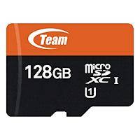 micro sd team memiliki warna dasar orange sebagai ciri khasnya