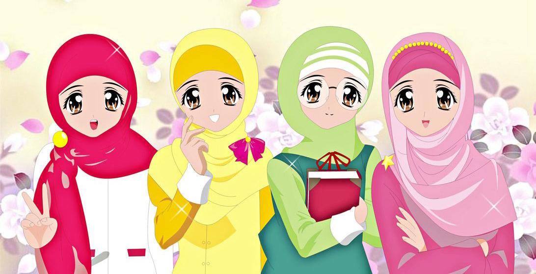 Gambar Kartun Muslimah Cantik Berkacamata: Surga : 4 Wanita Yang Dijamin Masuk Surga Allah Swt