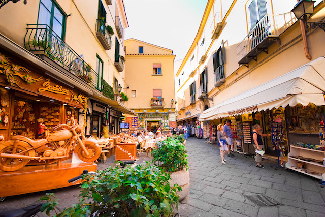 Old town of Sorrento