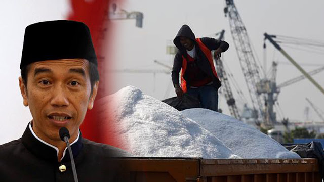Pemerintahan Jokowi Rajin Impor Garam dan Gula
