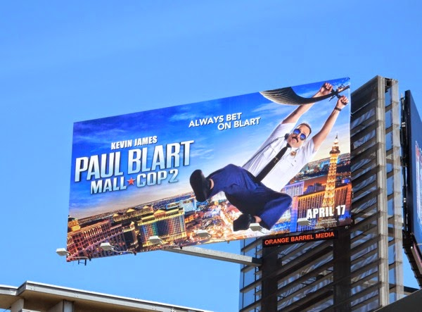 Paul Blart Mall Cop 2 film billboard