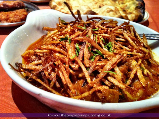 Sali Gusht, Raj of India, Collier Row Review at The Purple Pumpkin Blog