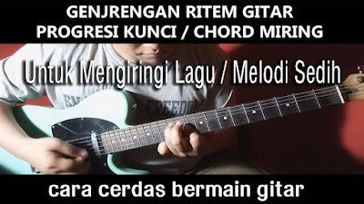 Belajar Strumming Gitar, Belajar Kocokan Gitar, Belajar Kunci Miring