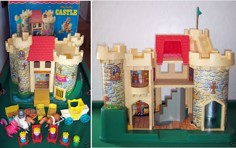 The 1974 Fisher Price Castle: