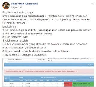 Cara Membuka Kunci DHGTK Online