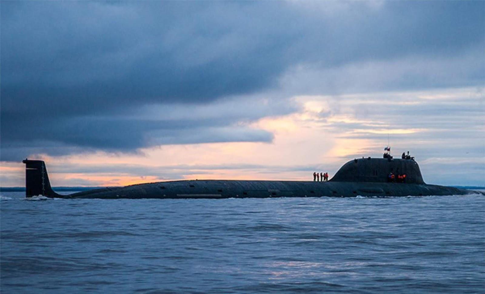 Laksamana AS : kekuatan kapal selam Rusia efektif