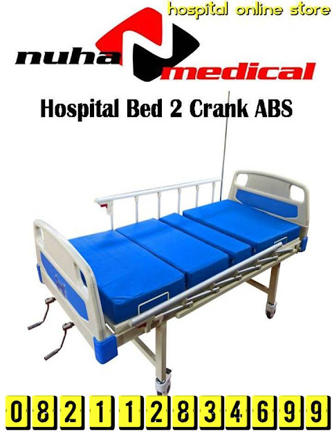 HOSPITAL BED 2 CRANK ABS