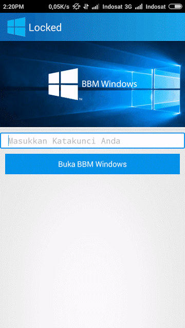 BBM Windows
