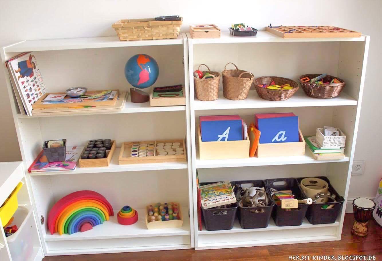 Die vorbereitete Umgebung - Das Montessori Kinderzimmer