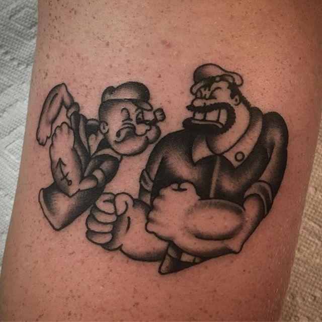 popeye battleship tattoo