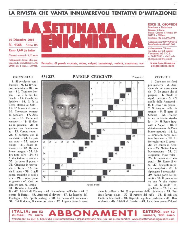 la settimana enigmistica pdf