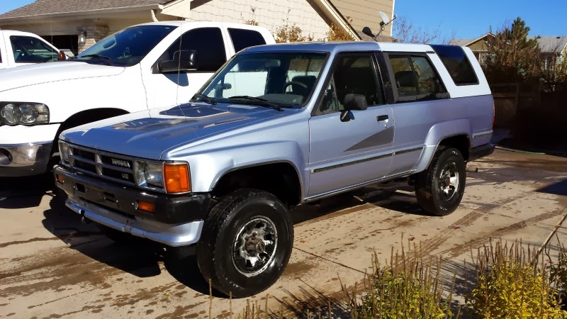 brucker brothers sold for sale great condition 1989 toyota 4runner v 6 5 speed 4x4 new. Black Bedroom Furniture Sets. Home Design Ideas