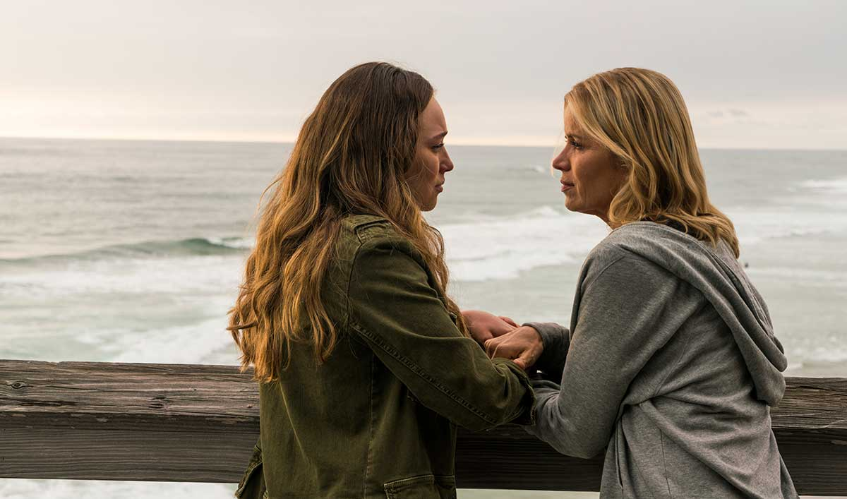 Madison y Alicia en Fear The Walking Dead