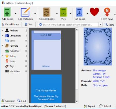 Berikut ini merupakan daftar software untuk membuat ebook Mobipocket gratis terbaik untuk Wi Software untuk membuat ebook Mobipocket gratis untuk Windows