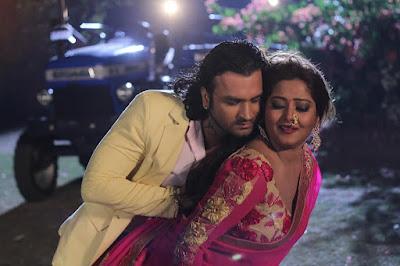 कुणाल तिवारी और अंजना सिंह का रोमांस फिल्म ''गुंडे'' में !