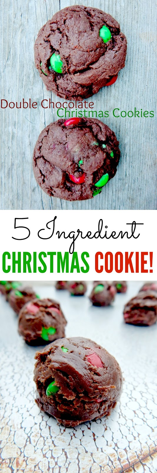 double chocolate christmas cookies (sweetandsavoryfood.com)