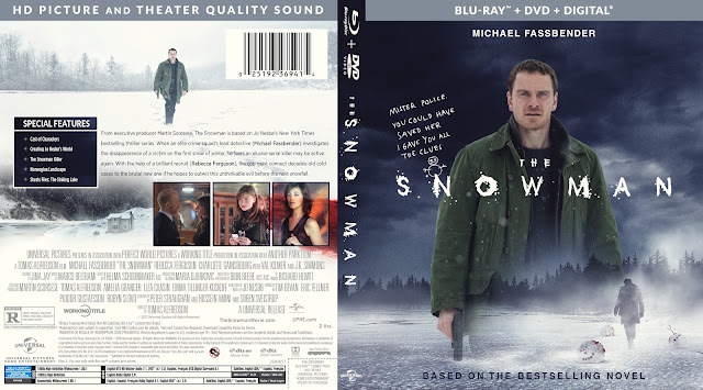 The Snowman Bluray Cover
