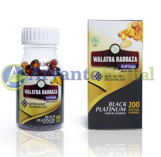 Walatra Habbaza Softgel Original Herbal Habbatussauda