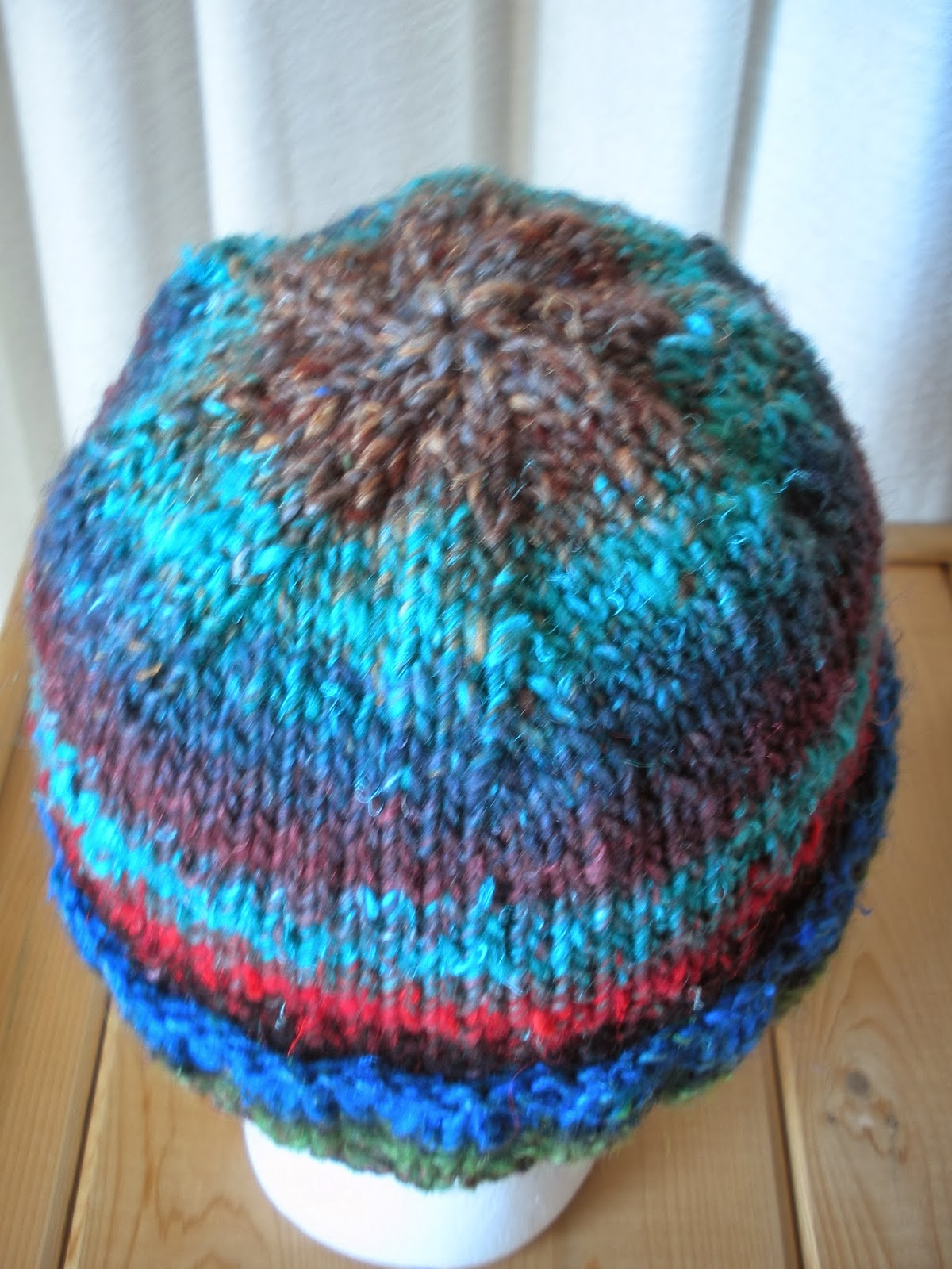 Yarn In, Yarn Out: Free Pattern: Big Guy Beanie