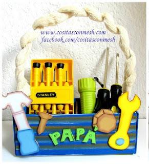 caja de herramientas  dia del padre