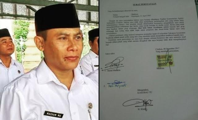 Usai Fitnah Jokowi Anti Islam, PNS Kemenag Bikin Surat Minta Maaf