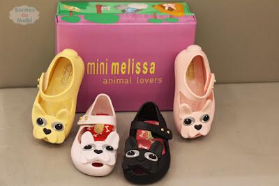 Novos modelos Mini Melissa 2015