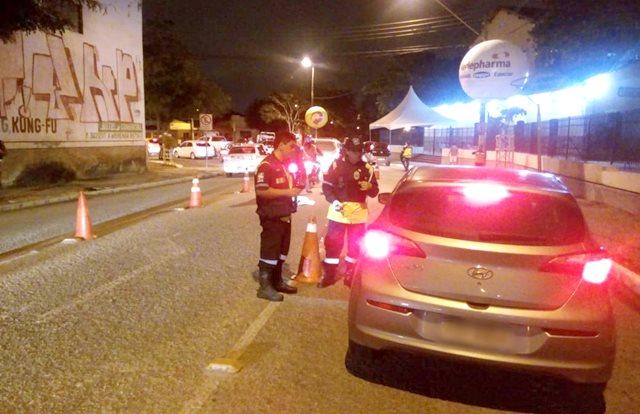 Nos 3 primeiros dias, São João de C. Grande tem quase 30 motoristas autuados por embriaguez