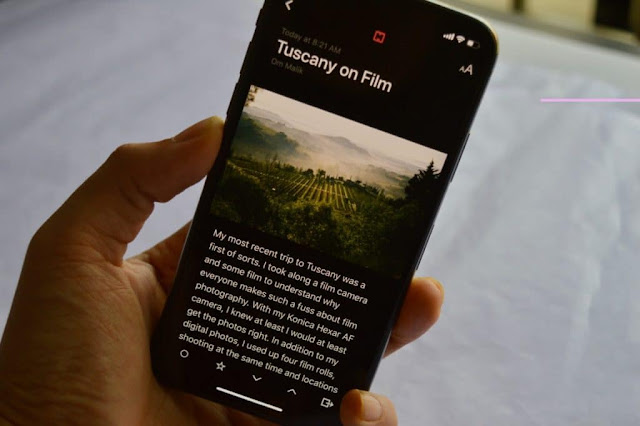 Google: Dark Mode Will Help Improve a Smartphone's Battery Life