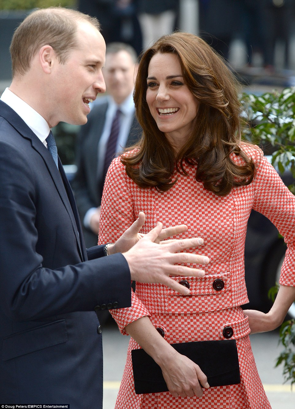Kate Middleton wears chic gingham dress on official visit