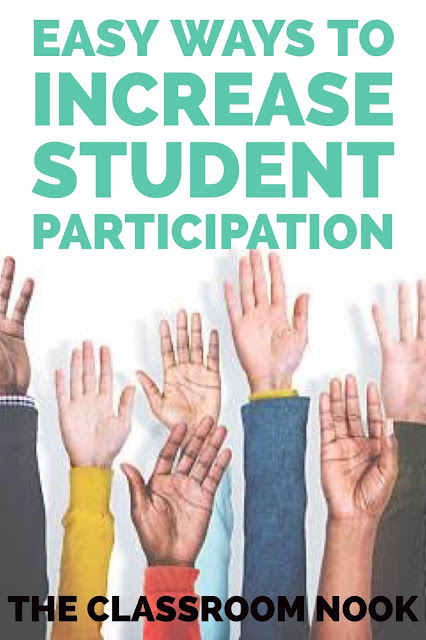 Easy Ways to Increase Student Participation (...and Build a Stronger Classroom Community!)