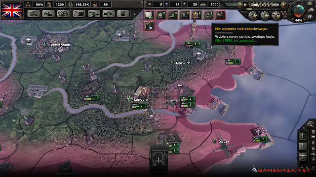 Hearts of Iron 4 Gameplay Screenshot 2
