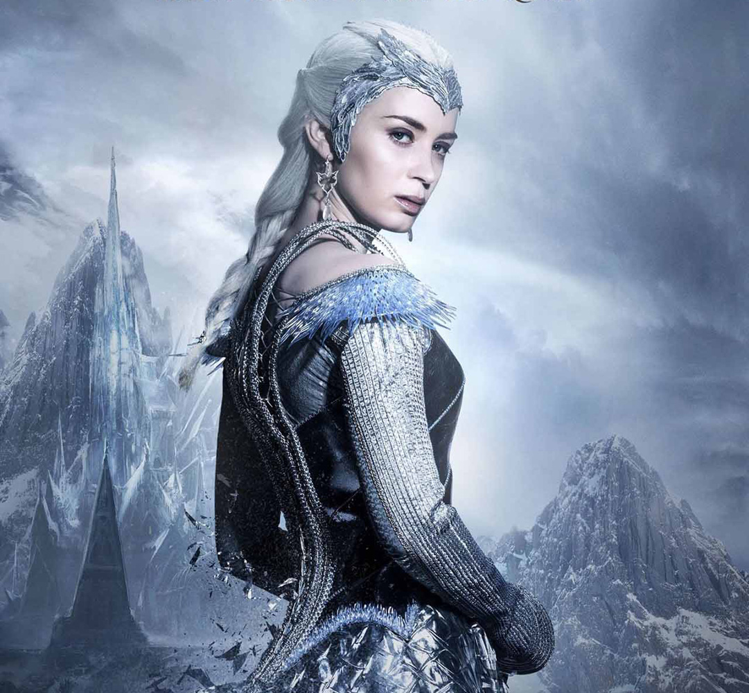 "Emily Blunt, the Ice Queen in ""The Huntsman: Winter's War ..."