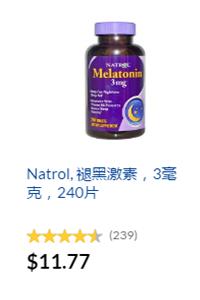 Natrol褪黑激素iherb