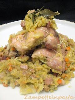 Sovracosce di pollo ripiene di verza e speck - Ricetta con sovracosce di pollo