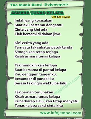 Download Lagu Pramuka Cinta Sebatas Patok Tenda : download, pramuka, cinta, sebatas, patok, tenda, Asmara, Tunas, Kelapa, Lirik, Pramuka, Download