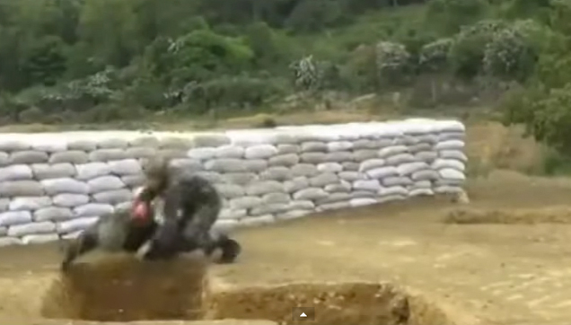 Laugh Out Loud Video Collection - Soldier drops a live grenade
