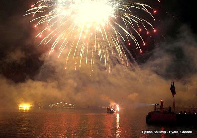 «Μιαούλεια 2017» Αναπαράσταση Ναυμαχίας και συναυλία της Γλυκερίας στο Λιμάνι της Ύδρας (πρόγραμμα)