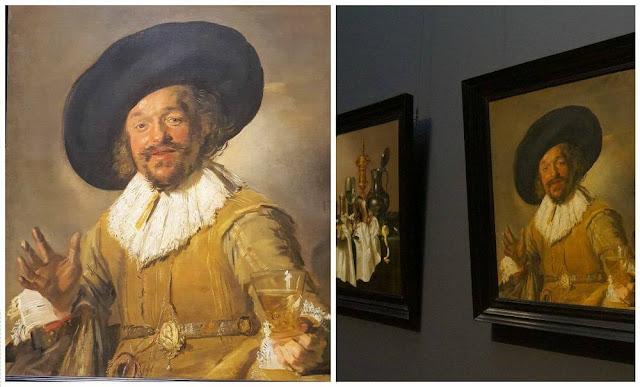 el alegre bebedor Rijksmuseum