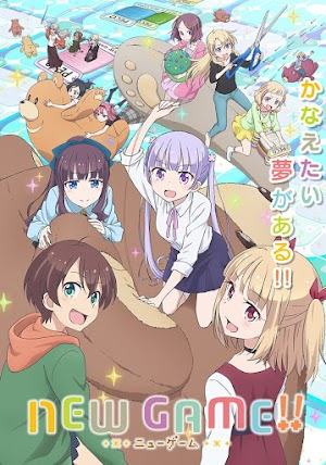 New Game!! 2 (Segunda Temporada) 12/12 [HDL]  150 MB [Sub.Español] (MEGA)